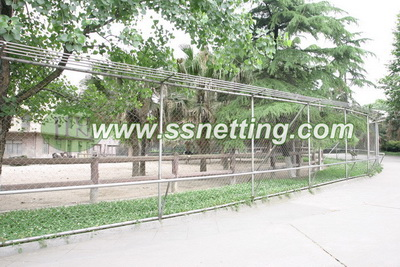 stainless steel ostrich fence netting, ostrich metal fence mesh, Ostrich protective fence mesh