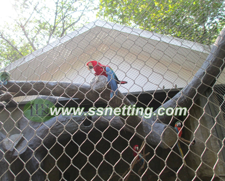 Macaw parrot cage fence netting.jpg