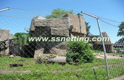wire mesh for tiger enclosures design, tiger enclosure mesh, tiger cage fence netting