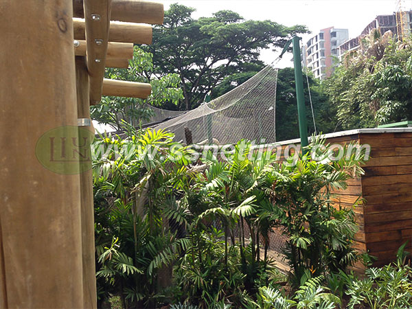Sale animal primates enclosure fence netting of zoo mesh code #2051