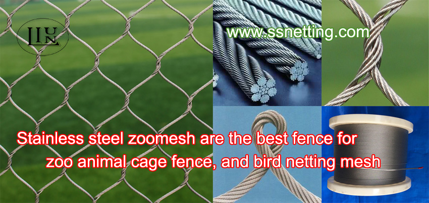 Zoo webnet special for animal enclosure netting