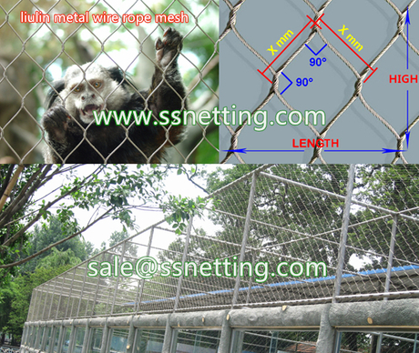 large size wire mesh for zoo cages enclosure.jpg