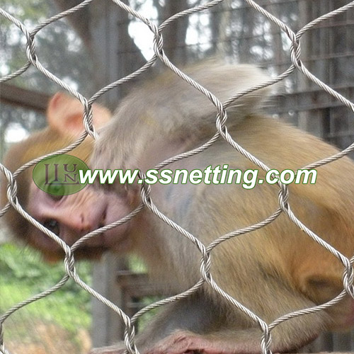 wire rope mesh in zoo for sale