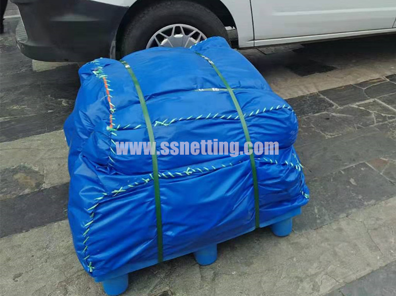 Flexible stainless steel cable woven mesh order delivered
