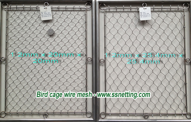 Bird cage wire mesh - www.ssnetting.com