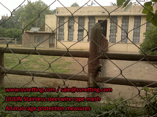 Animal cage protection measures