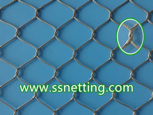 Stainless steel cable netting/ Wire cable mesh suppliers