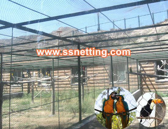How to build a macaw parrot cage, parrot cage fence netting