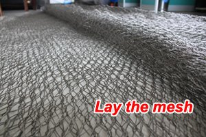 Lay the stainless steel zoo mesh-200