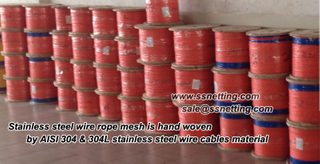 Stainless Steel Rope Mesh 304, 304L