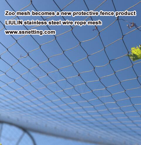 Zoo mesh becomes a new protective fence product