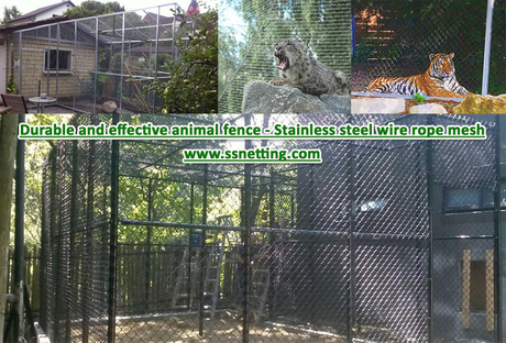 Durable and effective animal fence - Stainless steel wire rope mesh.jpg