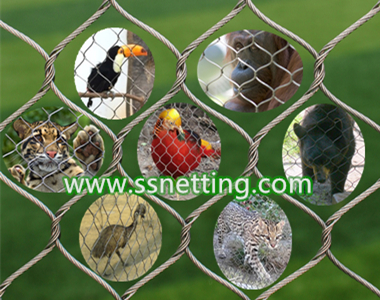 Zoo mesh suitable for kinds of zoo fence, park netting, wildlife park fence