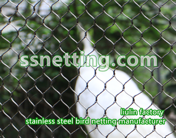 stainless steel bird netting manufacturer, bire fence enclosure mesh supplier