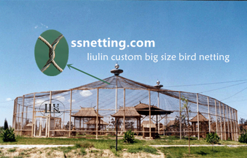 bird fence mesh, aviary cage fencing- liulin stainless steel aviary mesh supplier