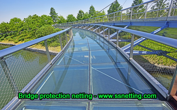 Stainless steel cable mesh for protection mesh