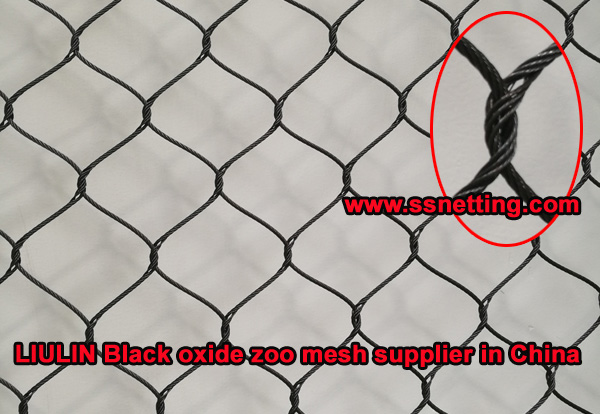LIULIN Black oxide zoo mesh supplier in China