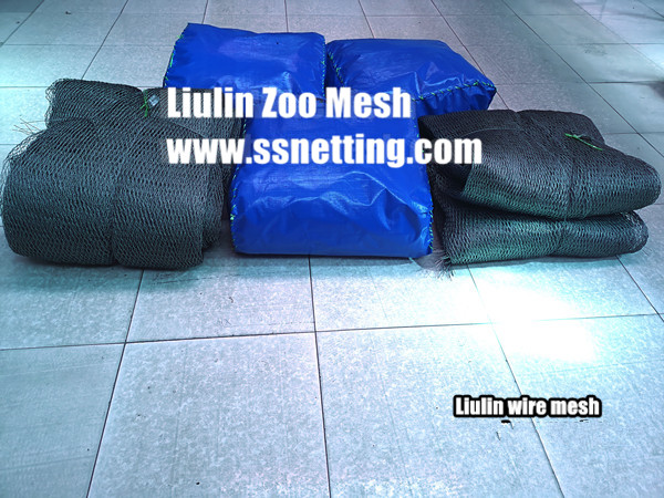 2880 sq.ft. Monkey mesh order finished – Stainless steel wire mesh factory