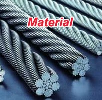 stainless steel wire rope woven mesh material-200