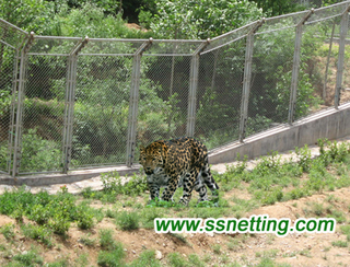 Leopard Fence Mesh