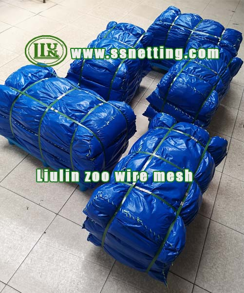 order delivery wire rope mesh