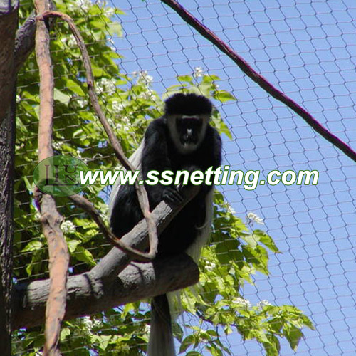 Monkey Enclosure & Fence & Netting & Mesh sale and export in China